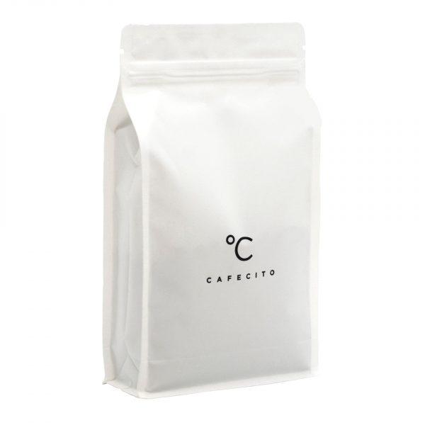 Koffiebar Amsterdam Koffiebonen Witte Zak