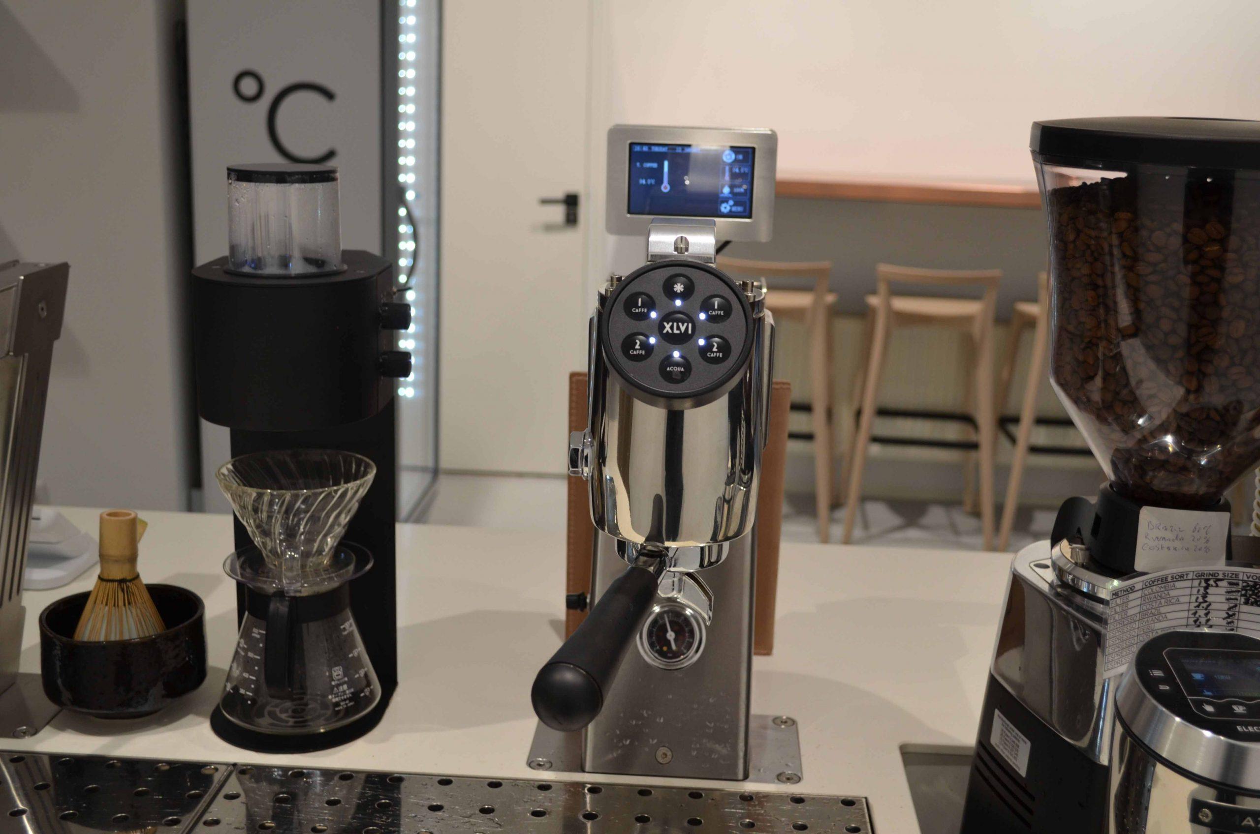 Koffiebar Amsterdam, koffie filter apparaten