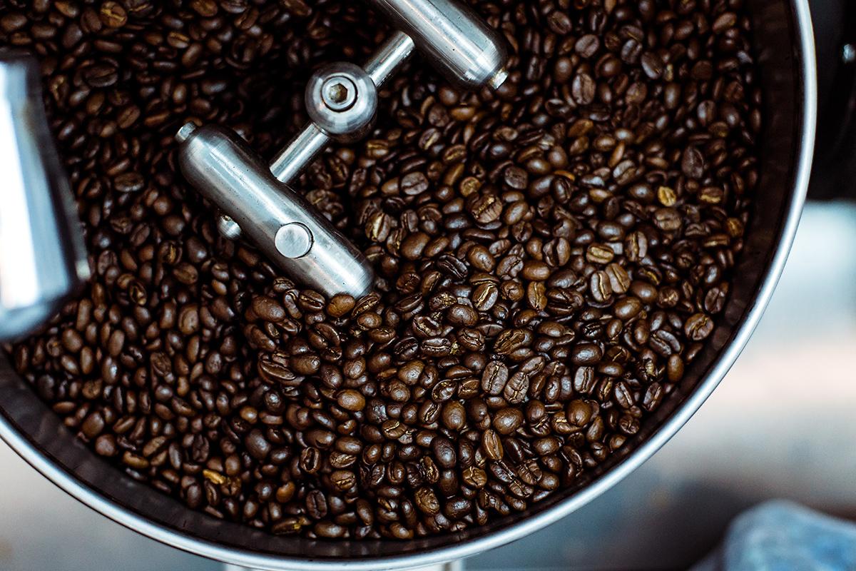 Espressobar Amsterdam, Coffee beans filter